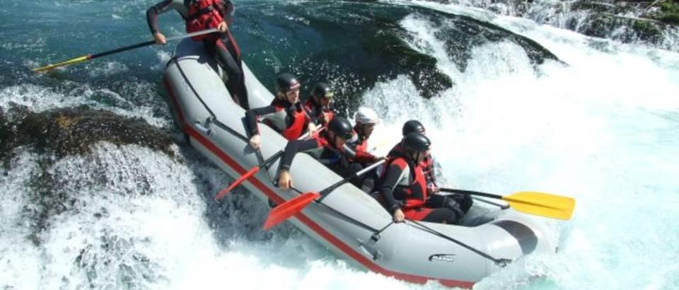 rafting, una, ordinacija
