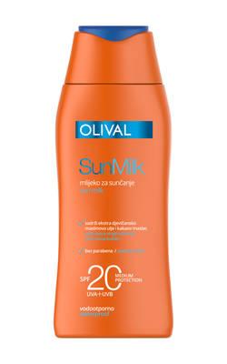 SunMilk mlijeko SPF20