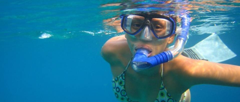 plivanje, ronjenje, more, dihalica, naocale za plivanje
