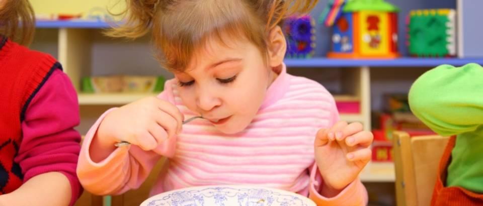 Dijete, prehrana, vrtic