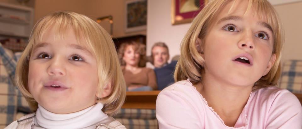 Dijete, tv, televizija