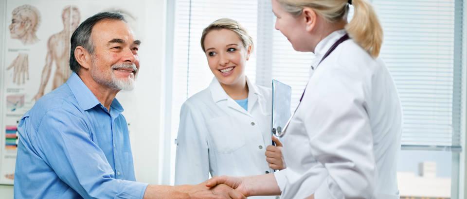 Pacijent liječnik shutterstock