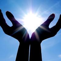 optimizam, ruke, nebo