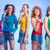 Prijateljice, djevojke, boje