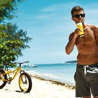 muskarac, sunce, Shutterstock 426843823