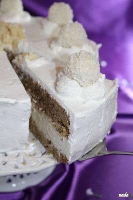 Raffaello torta - recept Nada