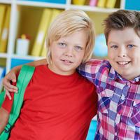 prijatelji, skola, shutterstock