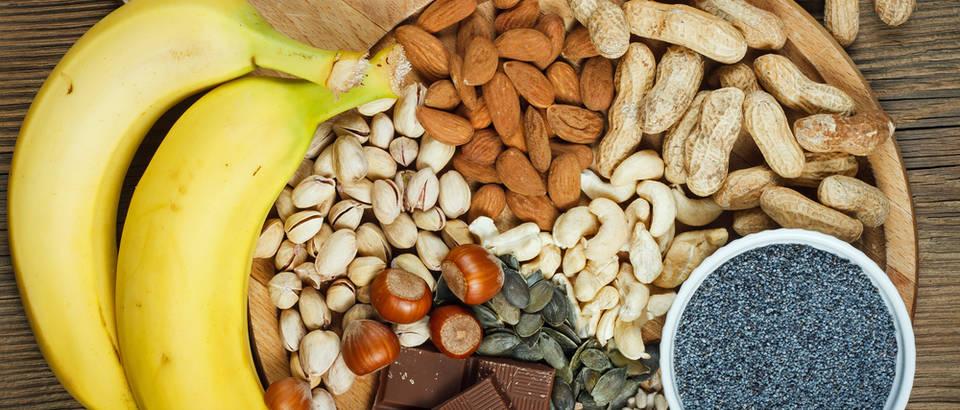 Magenzij namirnice sjemenke banane shutterstock 369279053