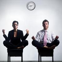 meditacija u uredu