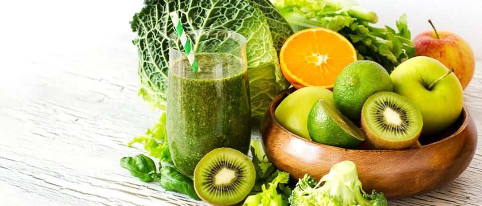 Zeleno povrće C vitamin kelj sok shutterstock 264514838