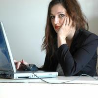 ured, racunalo, kompjuter, laptop, posao