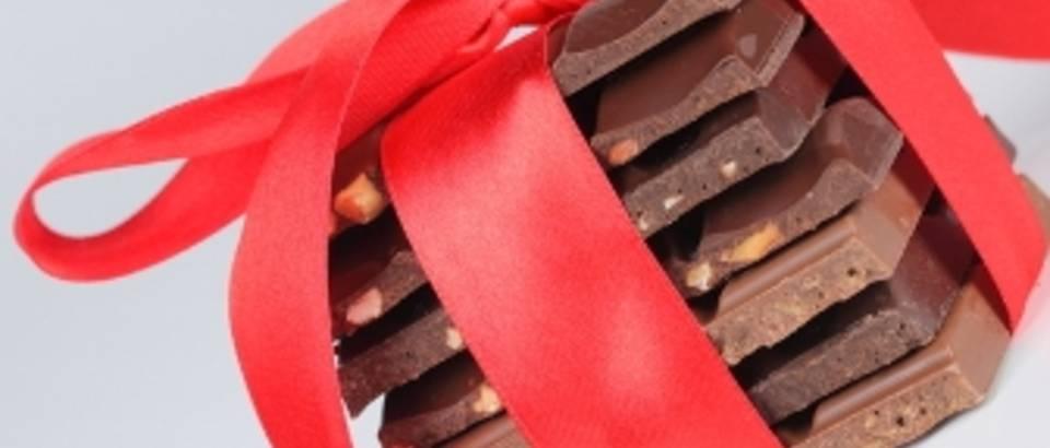 cokolada, poklon