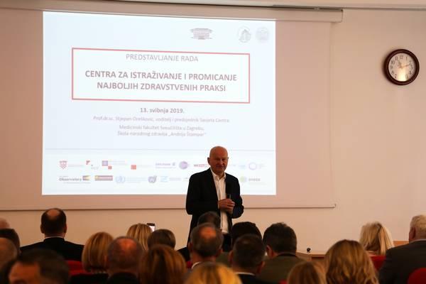 Prof.dr.sc. Stjepan Orešković, voditelj i predsjednik Savjeta Centra