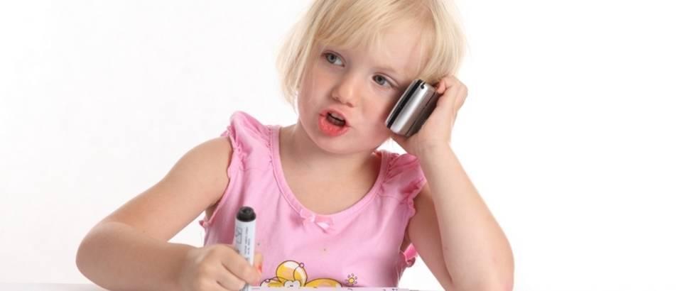 Mobitel, dijete