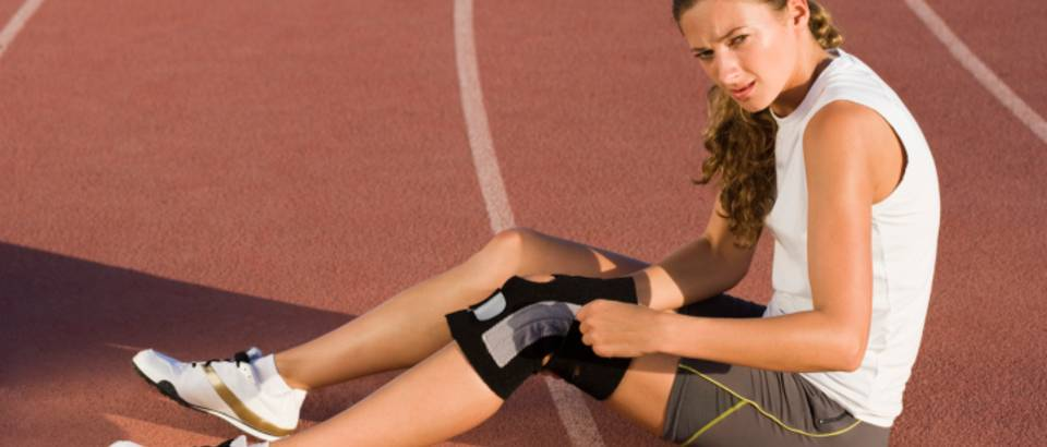 trcanje, bol u koljenu, koljeno, ozljeda