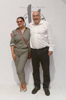 Nina Badrić i prof. Šimunić