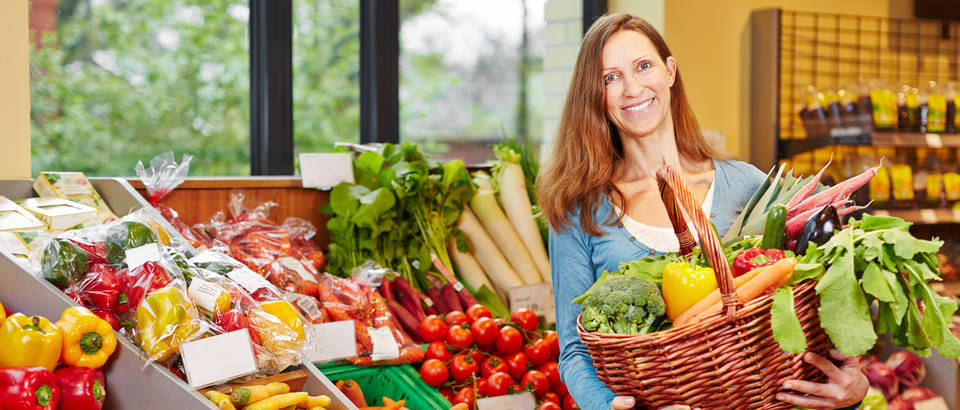 hrana, trznica, ducan, Shutterstock 338285546