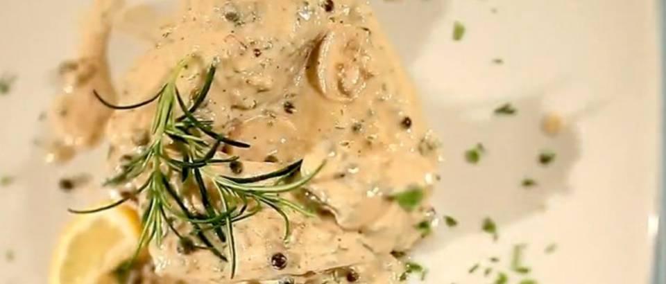 Tuna u umaku od zelenog papra (Kuhari.com)
