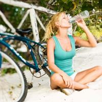 bicikl, fintess, boca vode