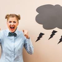 bijes, ljutnja, negativne misli,Shutterstock 265225076