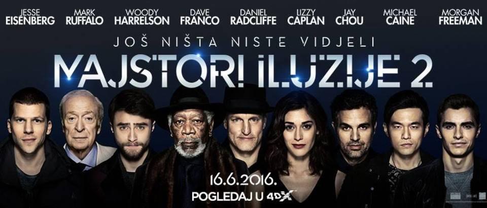 Majstori iluzije 2 Cinestar