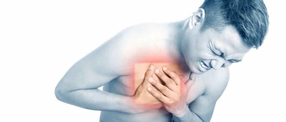 Rezultat slika za bol u prsima