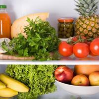 hrana zdrava frizider