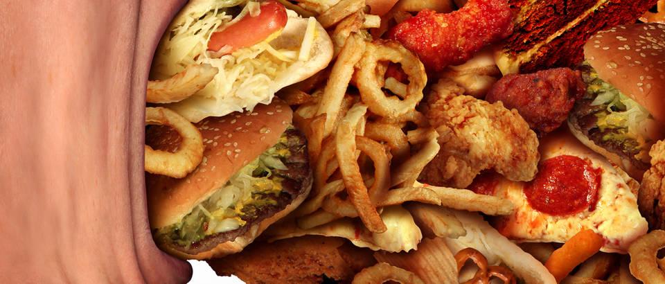 Prejedanje previšehrane