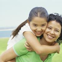 Mama i dijete, obitelj, kci