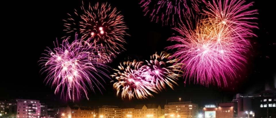 Nova godina, vatromet