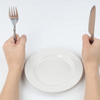 prazan tanjur, dijeta, mrsavljenje, gladovanje