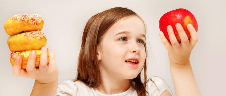 Zdrava prehrana pretilost dijete shutterstock