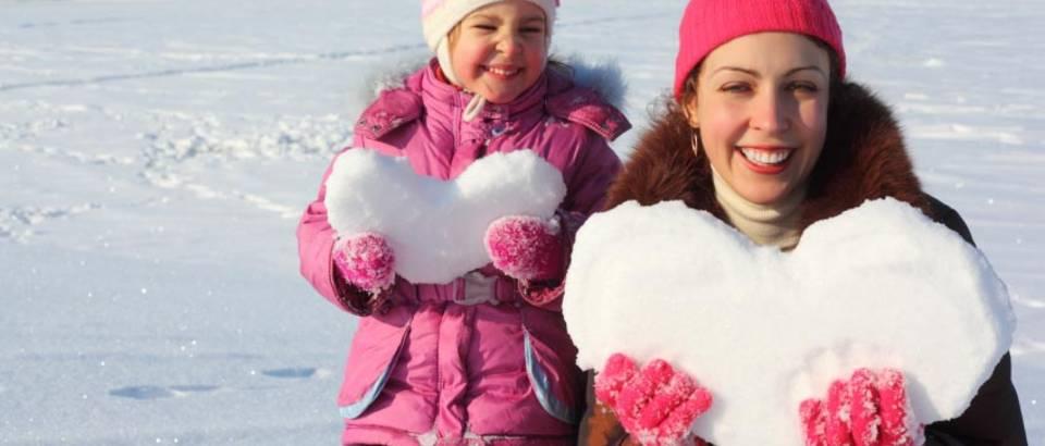snijeg mama kcer