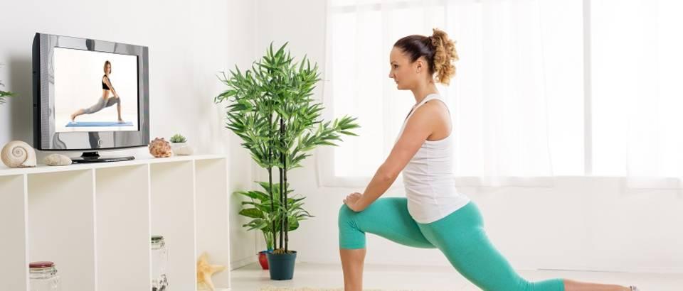 Vježba kod kuće vježbanje žena