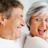 Stariji par, sreca, ljubav