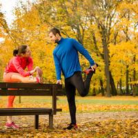Vježbanje par jesen shutterstock 320851637