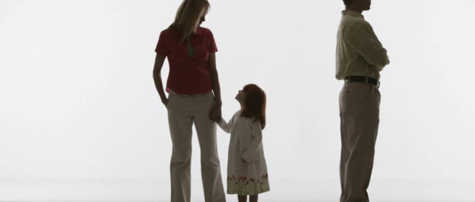 Razvod, prekid, dijete, roditelji