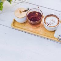 kava, čaj