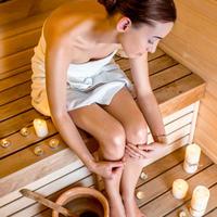 sauna, parna kupelj, Shutterstock 249345748