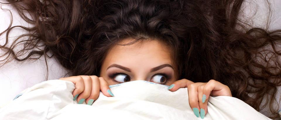 seks, strah, panika, krevet.Shutterstock 216349234