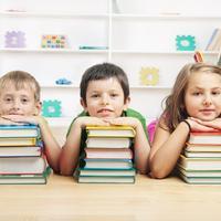 Djeca, skola, knjige