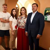 Studenti iz udruhge Stepp, Ivana Portolan Pajić, dr.med, dr.sc. Andrija Mikulić