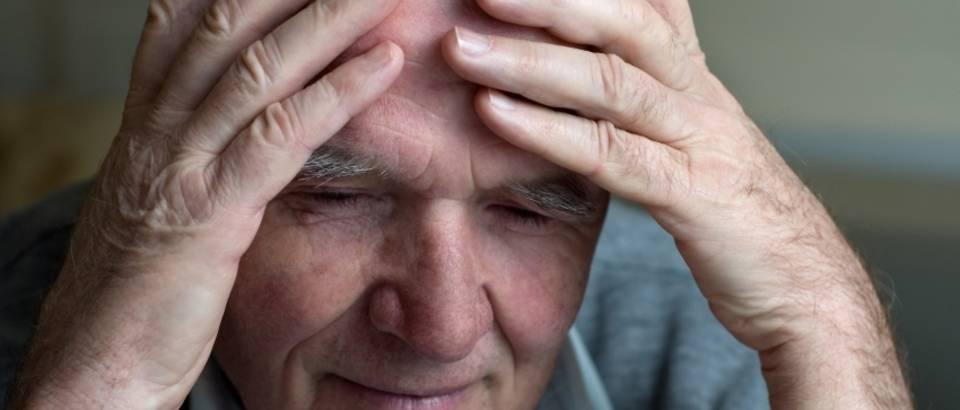 Muskarac, bol, tuga, depresija