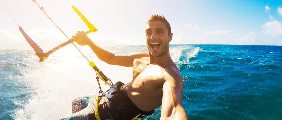 Adrenalin kitesurfing