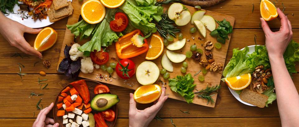 zdrava hrana, namirnice, voće, povrće