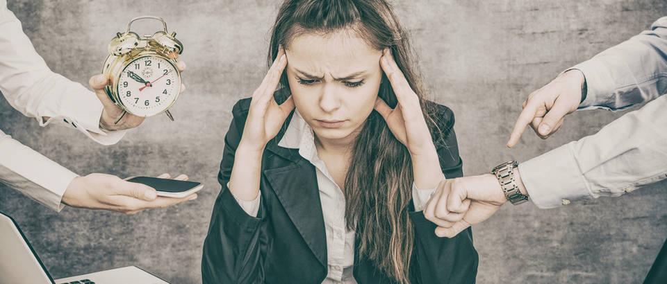 stres, ured, Shutterstock 618066920
