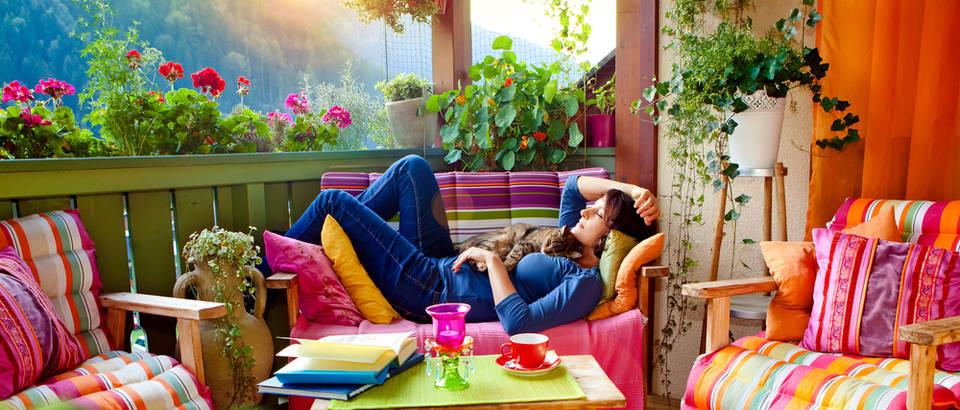 terasa, odmor, Shutterstock 104965601
