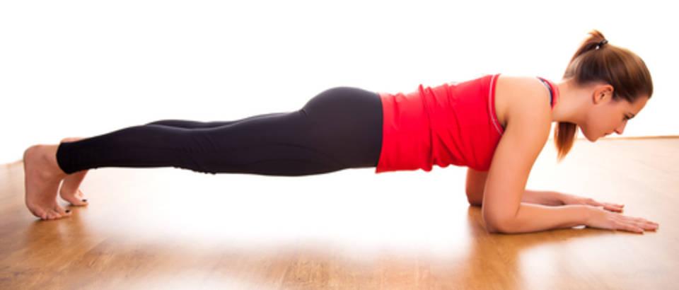fitness, vjezba, daska, plank, shutterstock