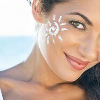 Sunce zaštita lijepa žena