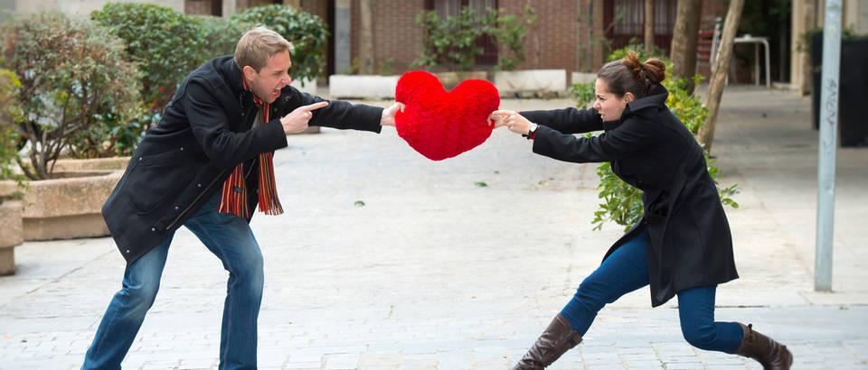 Ljubav par shutterstock